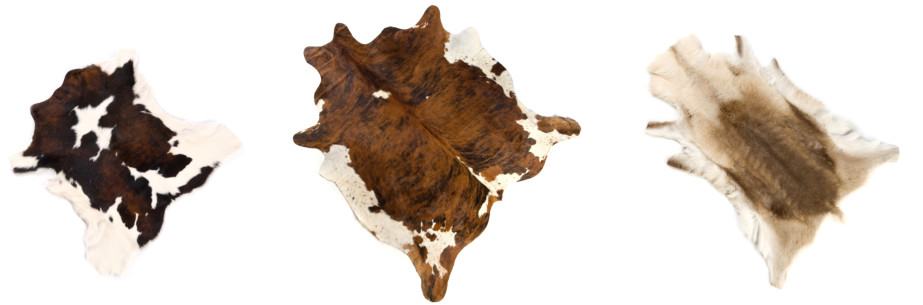 Hair on Cow Hide Rugs