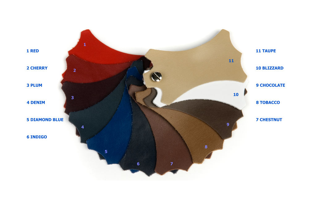 Galaxy Sides Leather  coloured Swatch
