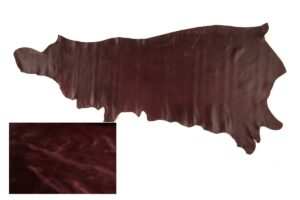Rio Grape Pull up distressed leather