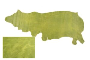 Lime Rio Pull up distressed leather