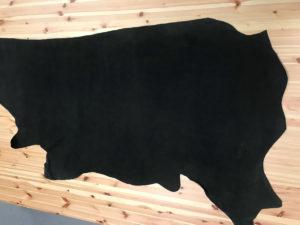 Nubuck Dark Khaki Printed Hide