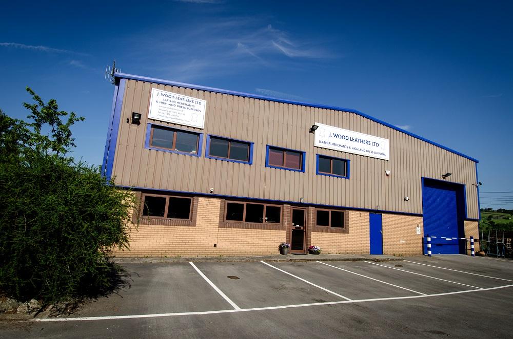J. Wood Leathers Warehouse Exterior