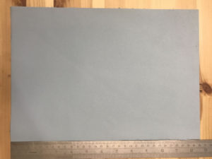 Kensington Leather Panel Baby Blue