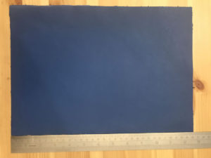 Kensington Leather Panel Cornflower Blue
