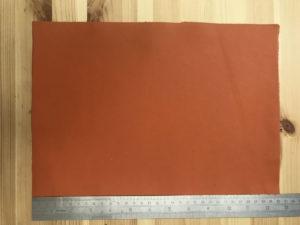 Kensington Leather Panel Orange
