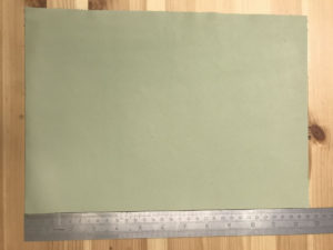 Kensington Leather Panel Pastel Green
