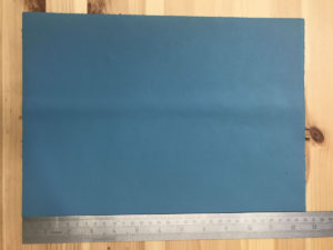 Kensington Leather Panel Turquoise