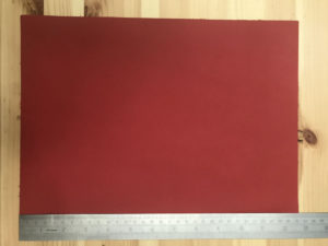 Kensington Leather Panel Windsor Red