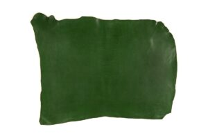Green Vegetable Tanned Leather