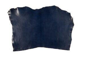 Blue Vegetable Tanned Leather
