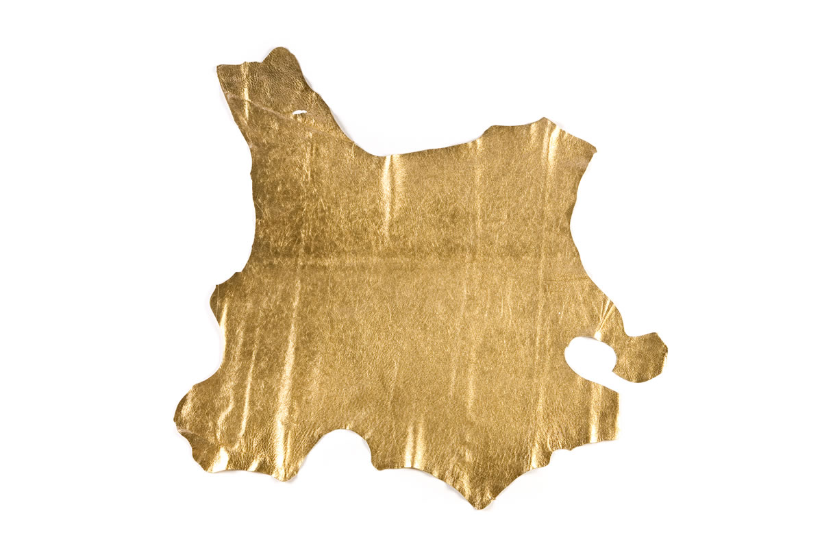 Gold Leather Hide